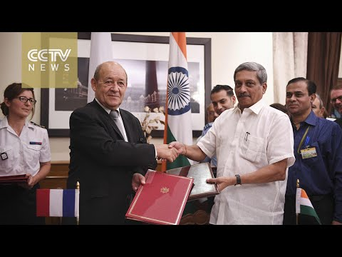 India, France sign deal for 36 Rafale fighter jets