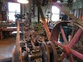 Old Steam Powered Machine Shop 33   Governor pulley change
