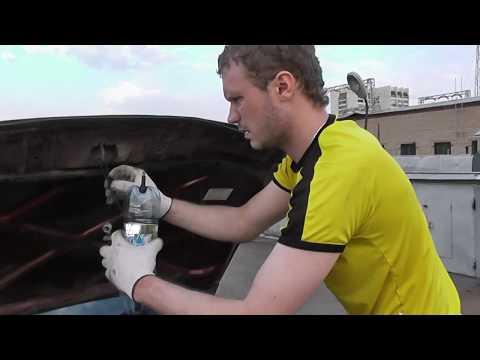 Промывка инжектора простым методом(TOYOTA Ceres 4A FE) - Смешные видео приколы