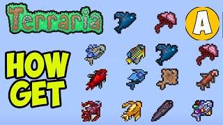 Terraria how to gęt Quest Fish (2021)   Terraria 1.4.2 fisherman quest