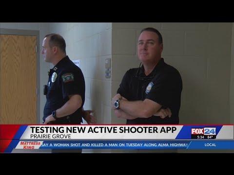 Prairie Grove School District Tests Safety App (Fox 24)