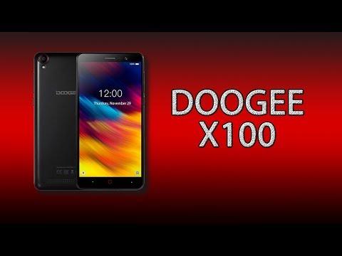 Doogee X100: один из самых бюджетных и автономных смартфонов!
