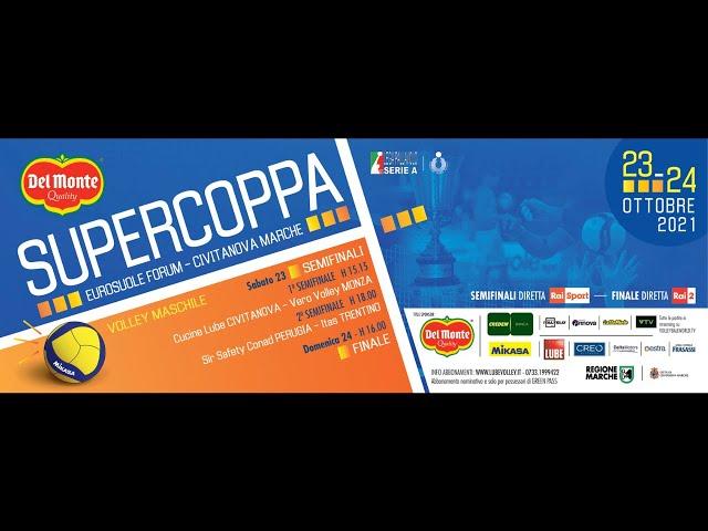Conferenza stampa Del Monte Supercoppa 2021