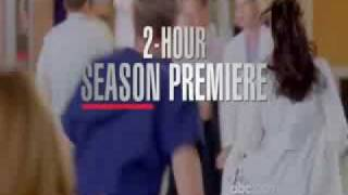GREY'S ANATOMY SEASON 6 NEW Premiere Promo