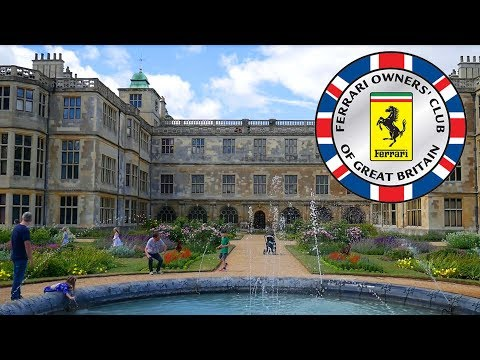 Ferrari Owners' Club Picnic in Audley End House and Gardens