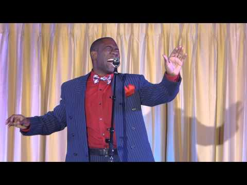 SSG Tony Cooper singing at Omega Psi Phi Showboat 2013