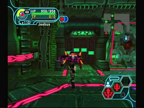 Phantasy Star Online (GC) - A Quick, Easy Run through the Mine (Ultimate)