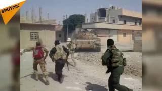 بالفيديو: شاهد طريقة تقدم الجيش السوري في الحسكة