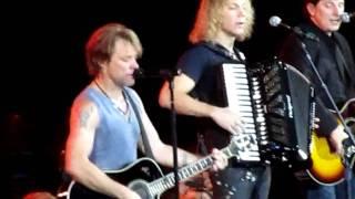 Bon Jovi Santa Fe London O2 Arena 25th June 2010