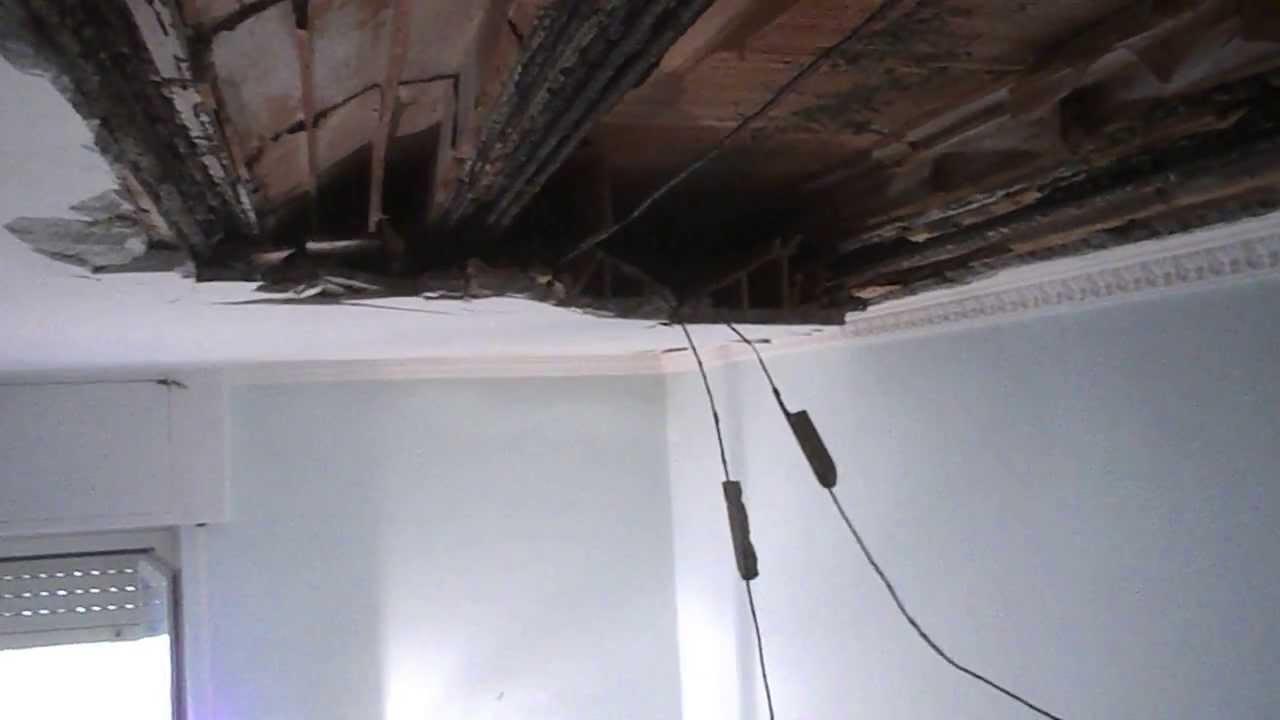 Ripristino Solaio Latero Cemento come crolla un soffitto in calcestruzzo ammalorato e