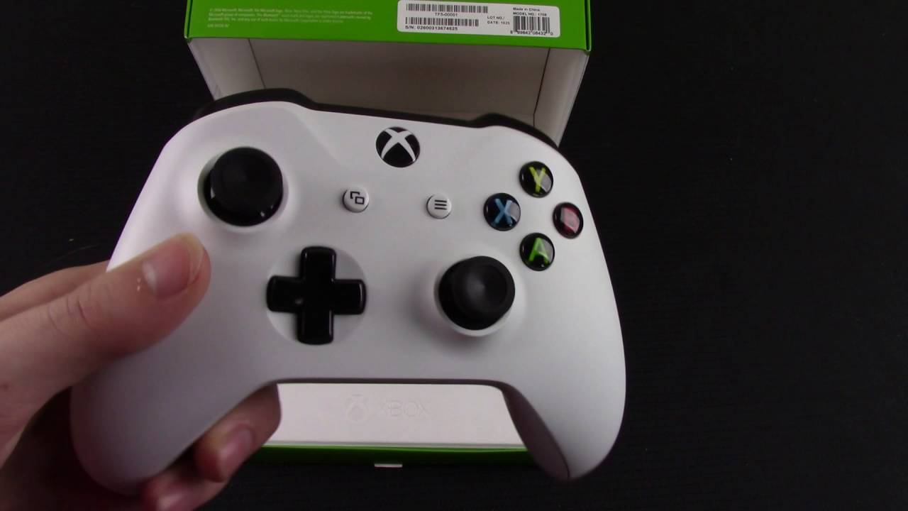 Unboxing Xbox One S White Controller YouTube