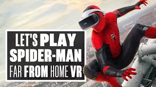 Spider-Man: Far From Home VR gameplay is a BROKEN MESS - Ian's VR Corner (Let's Play Spider-man VR)