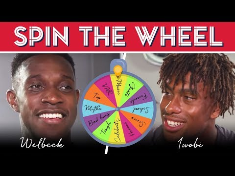 😂 Spin the wheel with Alex Iwobi & Danny Welbeck