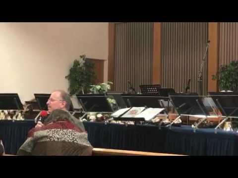 Laurelwood Academy Choir praise service