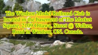 4th Annual Windsor Model Railroad Club Open House Promo Video! (It has already happened)