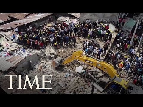 At Least Eight Dead After A School Building Collapsed In Nigeria With Children Inside | TIME