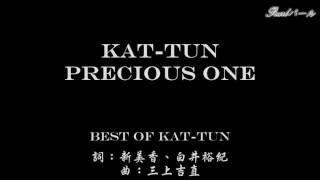 [Karaoke]Precious one KAT-TUN
