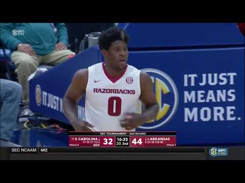 Arkansas vs. South Carolina 2018 (SEC 2nd Round)
