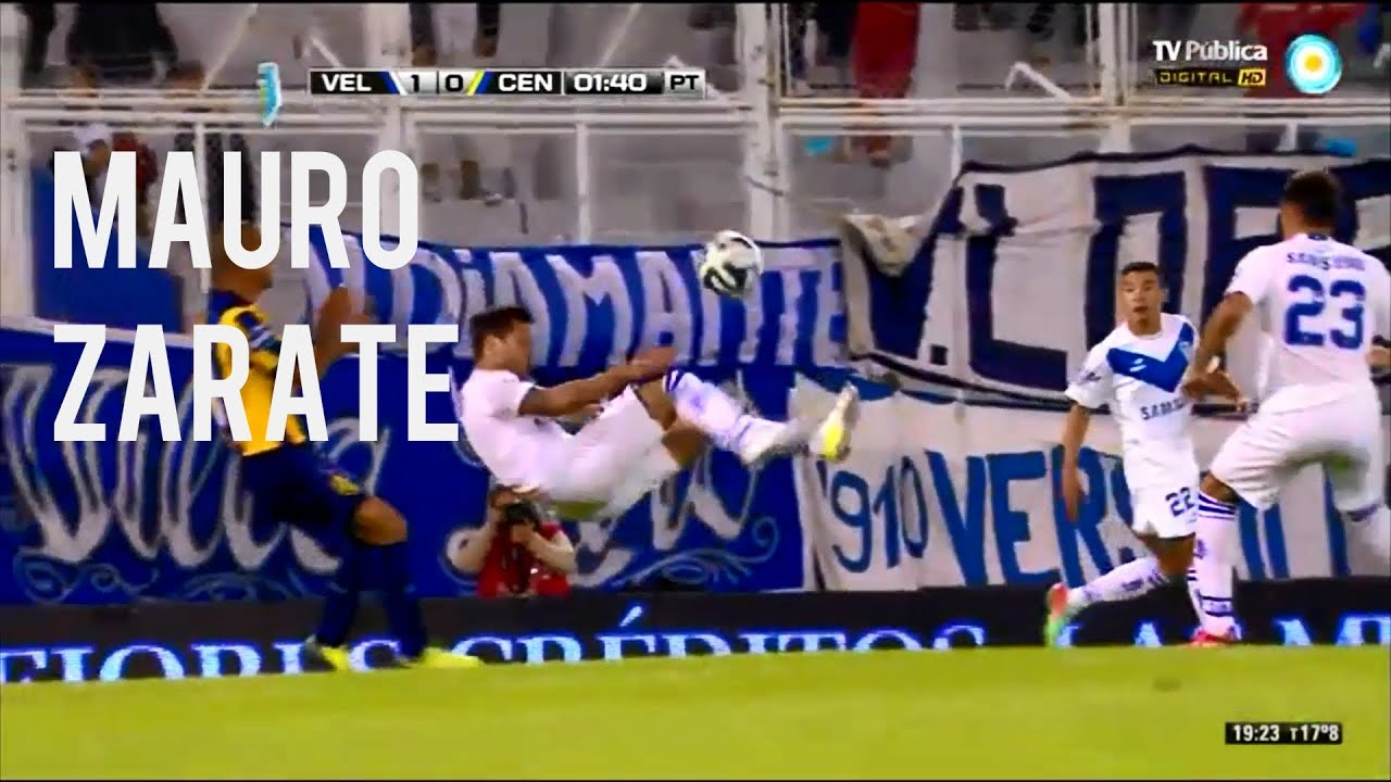 Mauro Zárate : Mejores Jugadas, Pases & Goles 2014