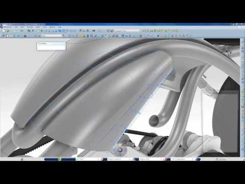 Webinar: The Silverbull bike made with CATIA for Creative Designers and CATIA Icem V6 R2013x