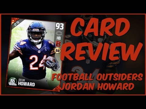 MUT 17 Card Review | Football Outsiders Jordan Howard Gameplay + Card Review