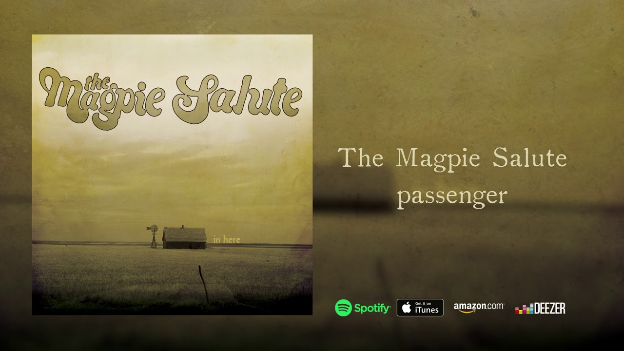 """The Magpie Salute ~ """"Passenger"""" (Excerpt / Limited to """"In Here EP"""")"""