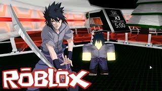 SASUKE BG (almost) VS the world! -Roblox Anime Cross 2