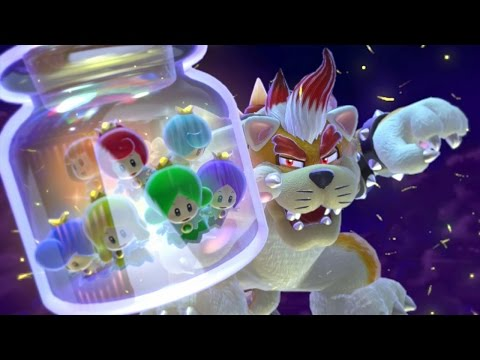 Super Mario 3D World - All Castles
