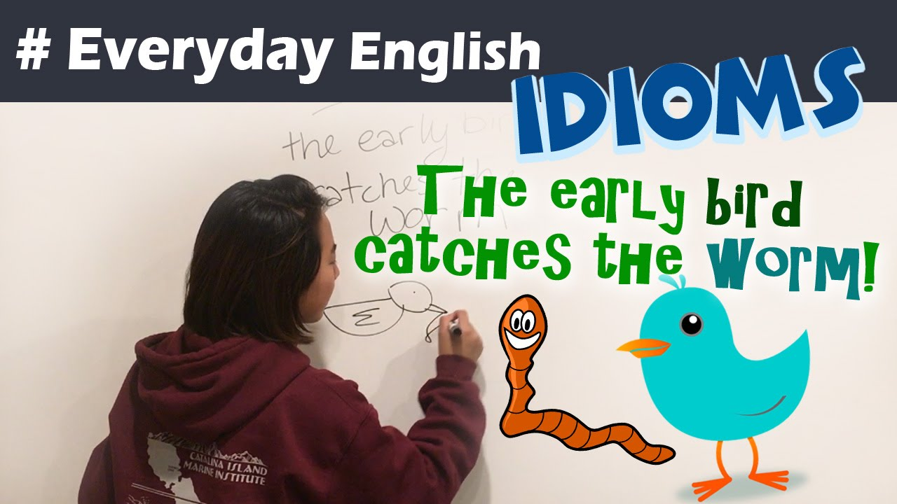 Idioms for Kids | everyday English - The Early bird catches the ...