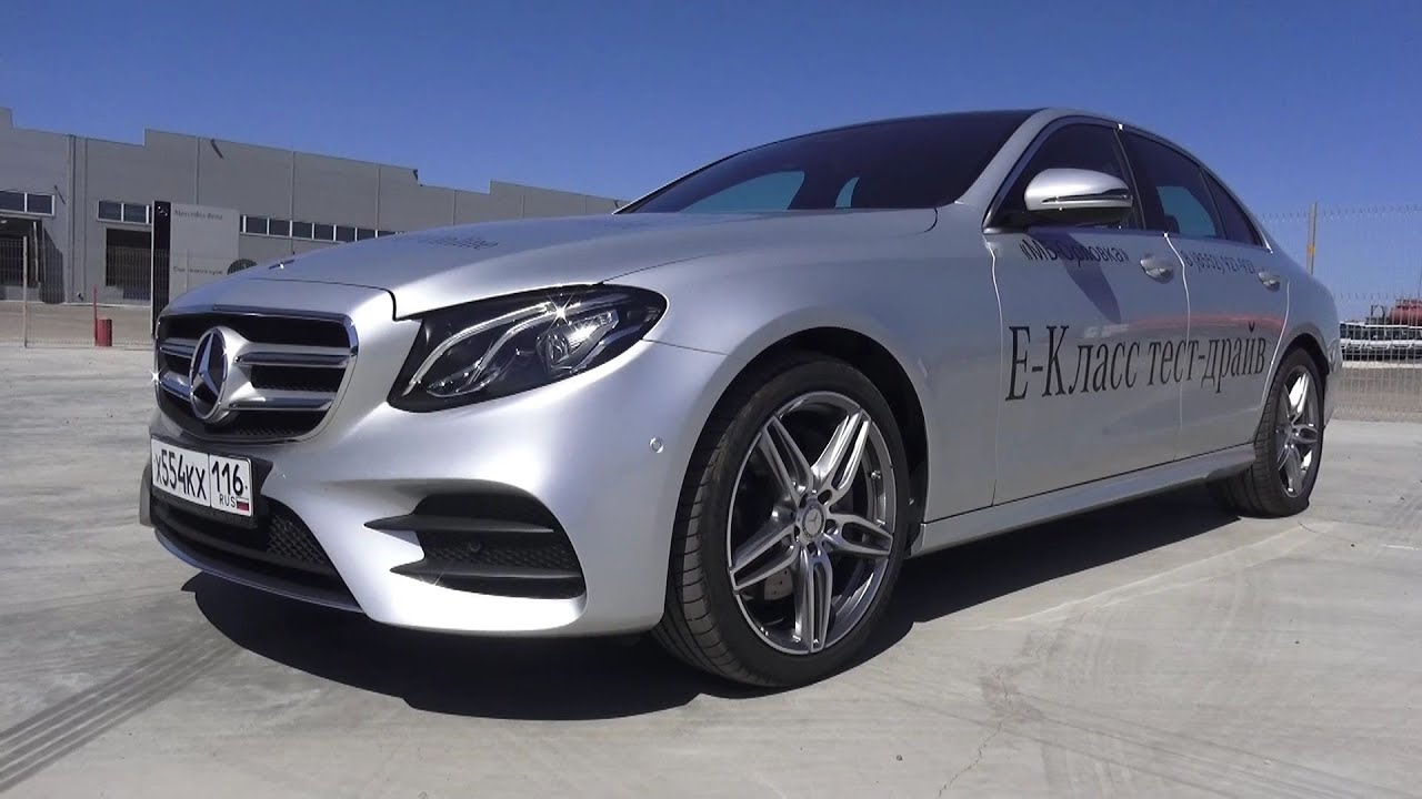 2016 Mercedes Benz E200 W213 Sport Start Up Engine and In Depth