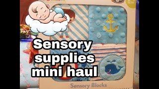 Sensory Tent Haul   Alfie's New Sensory Area Goodies