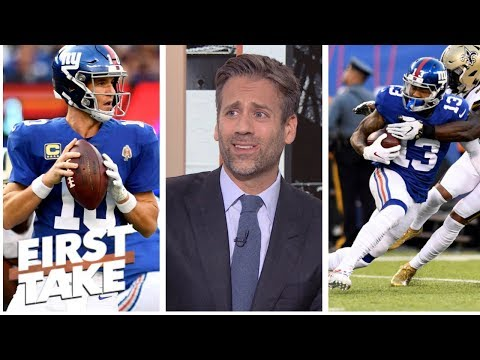 Max: Odell Beckham Jr. is helping mask that 'Eli Manning is terrible' | First Take | ESPN