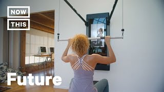 Tonal Exercise System Uses Machine Learning For Home Fitness | NowThis