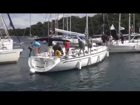 Just Another Clumsy Mooring at Palmižana, Hvar, Croatia