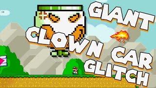 GIANT Clown Car GLITCH Tutorial   Super Mario Maker