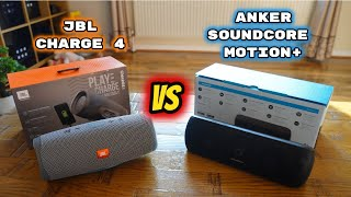 Anker SoundCore Motion+ Vs JBL Charge 4: Which one Should you BUY?