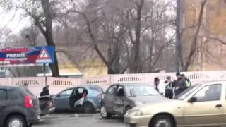 Самая тупая авария Воронеж 2016 А говорят права не продают!