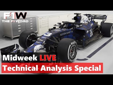 Midweek Live: Analysing The 2018 Red Bull, Alfa Sauber And Renault