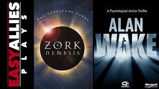 From Z to A - Ian Plays Zork Nemesis and Alan Wake