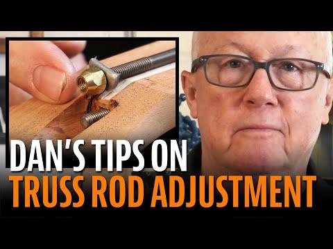 Understanding guitar truss rod adjustment