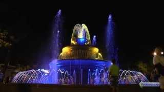 Геленджик достопримечательности - поющий фонтан(Подписывайтесь на канал, будет много интересного видео, так-же читайте про достопримечательности в Гелендж..., 2013-07-21T05:57:18.000Z)