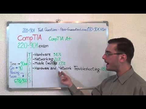 220-901 – CompTIA A+ Exam Test Questions