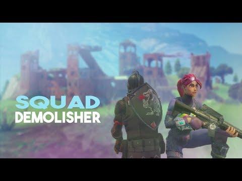 SQUAD DEMOLISHER? Streamer Highlights 1 (Fortnite Battle Royale)