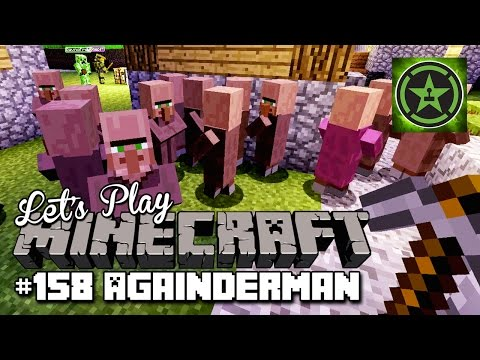Let's Play Minecraft: Ep. 158 - Againderman