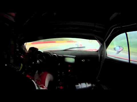 Vidéo inboard début de course Soheil AYARI Spa GT Tour 9 juin 2013