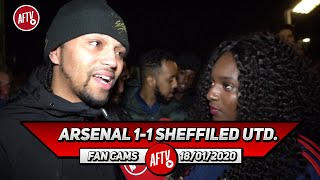 Arsenal 1-1 Sheffield Utd. | I Don't Think Lacazette Should Have Come Off! (Curtis)