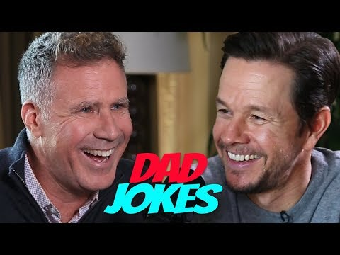 Dad Jokes | You Laugh, You Lose | Will Ferrell vs. Mark Wahlberg