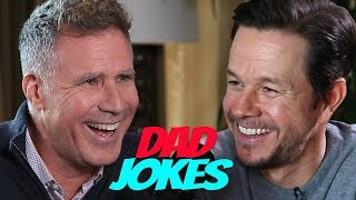 Download Dad Jokes | You Laugh, You Lose | Will Ferrell vs. Mark Wahlberg Mp3 and Videos