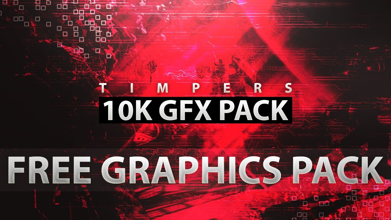 *NEW* FREE Photoshop Graphics Pack Download- 10K GFX Pack