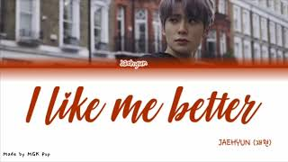 I Like Me Better  Lauv Jaehyun Of Nct Cover